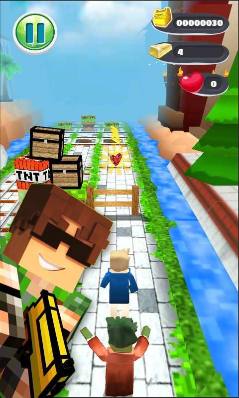 pixel run 3d apk