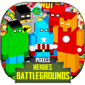 Pixel Heroes Royale  Battleground Gun 3D icon