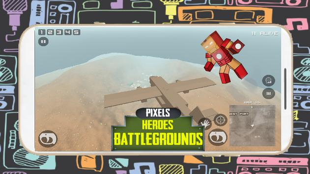 Pixel Heroes Royale  Battleground Gun 3D screenshot 1