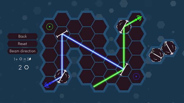 Senalux - the laser optics puzzle poster