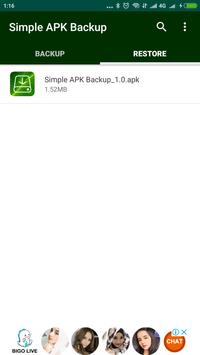 Simple APK Backup Share screenshot 3