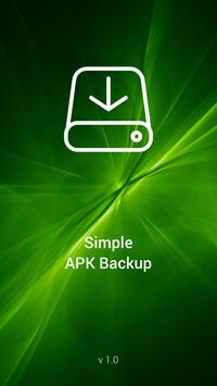 Simple APK Backup Share poster
