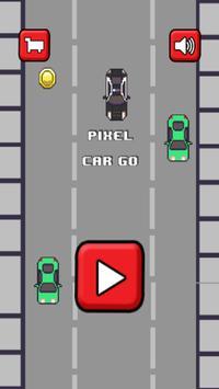 Pixel Car GO poster