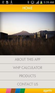 Zoetis WHP Calculator poster