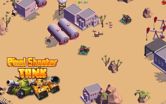 Pixel Shooter Tank PVP apk screenshot