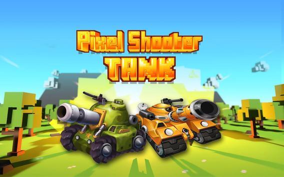 Pixel Shooter Tank PVP poster
