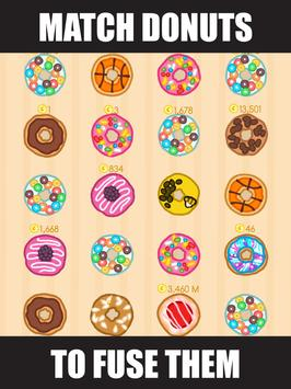 Donut Evolution - Merge and Collect Donuts! screenshot 3