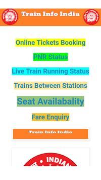 Train Info India poster