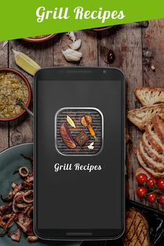 Grill Recipes Grilled Food poster
