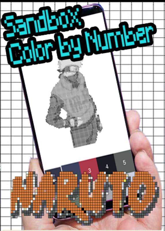 Color by Number Naruto Pixel art sandbox coloring for Android - APK ...