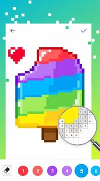UNICORN - Color By Number & Pixel Art Coloring syot layar 1