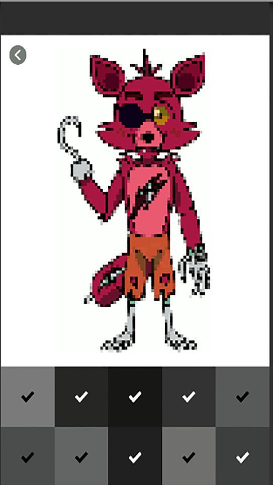 Pixel Art Game - FNAF Color by Number for Android - APK Download