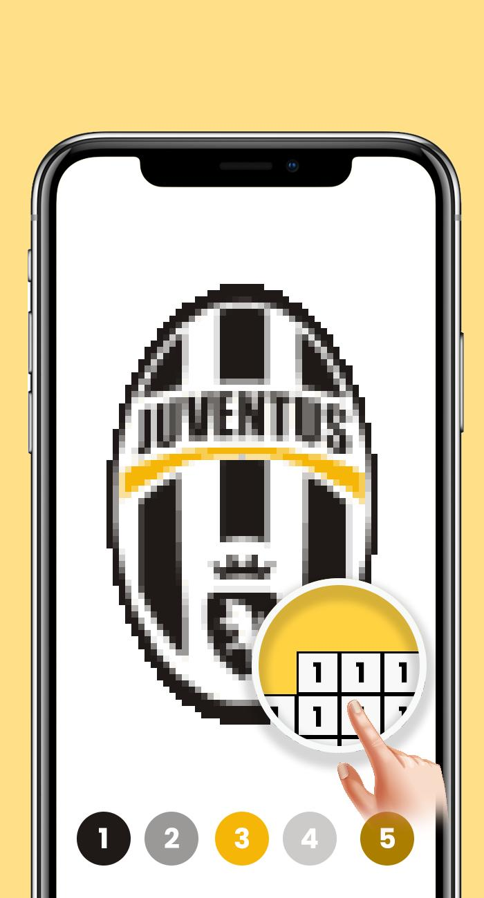Pixel Art Football Coloring Color By Number For Android