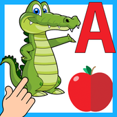 ABC Kids Coloring Book - Alphabet, Animals, Fruit icon