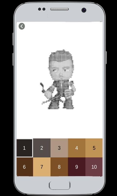 Coloring Avengers by Number for Android - APK Download