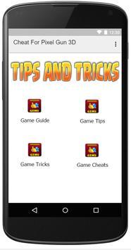 Cheat For Pixel Gun 3D apk screenshot
