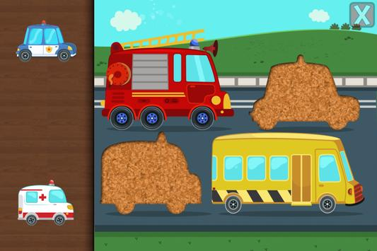 Cars & Trucks Puzzle for Kids poster