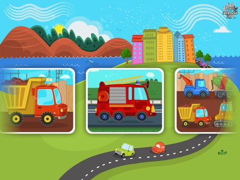 Cars & Trucks Puzzle for Kids apk screenshot