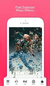 Pixel Explosion Photo Effects poster