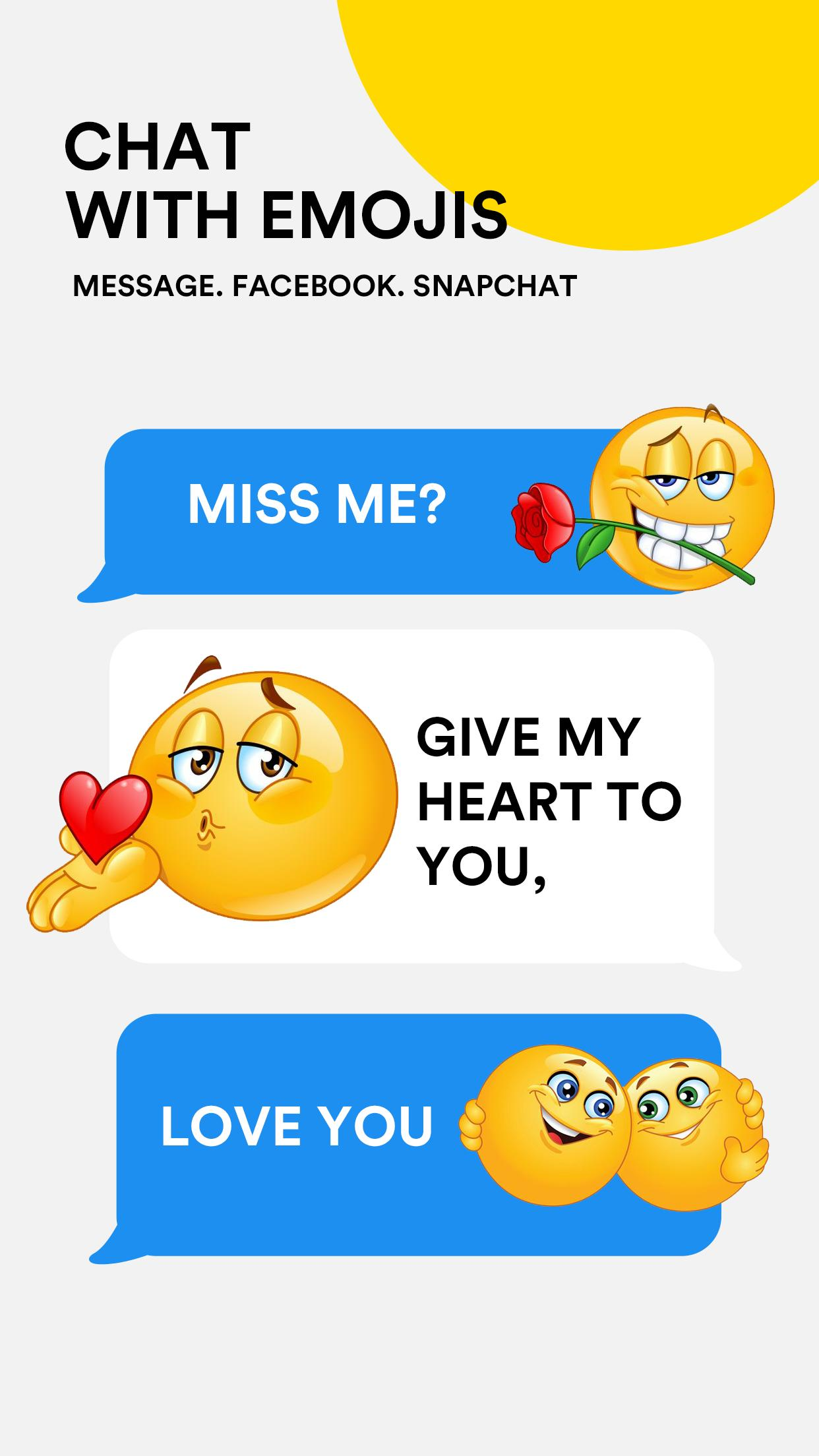 Animated 3D Emoji & New Adult Emoticons for Android - APK