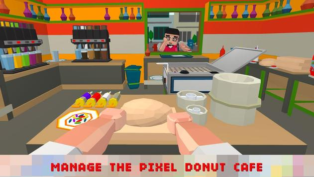 Sweet Donut Maker Cooking Chef poster