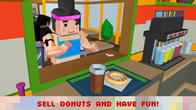 Sweet Donut Maker Cooking Chef screenshot 1