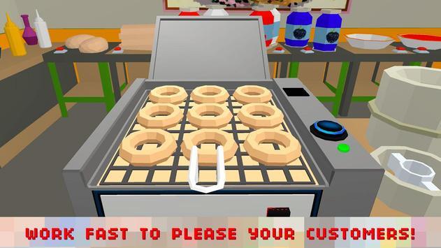 Sweet Donut Maker Cooking Chef screenshot 2