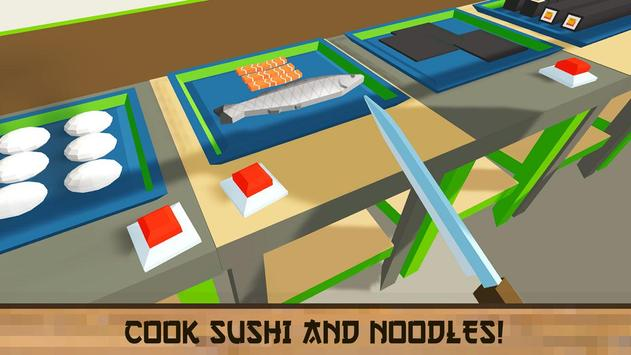 Sushi Chef: Cooking Simulator apk screenshot