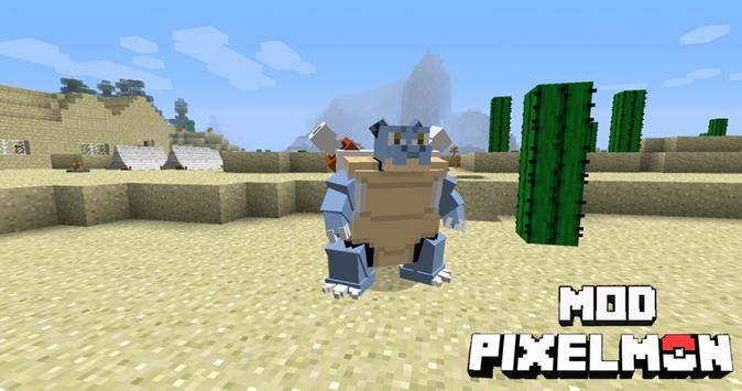 Mod Pixelmon for Minecraft PE poster