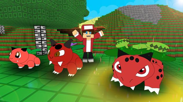 Pixelmon Craft Go: Trainer Battle screenshot 11