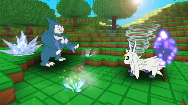 Pixelmon Craft Go: Trainer Battle screenshot 4