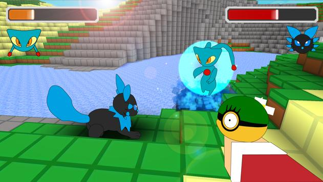 Pixelmon Craft Go: Trainer Battle screenshot 5