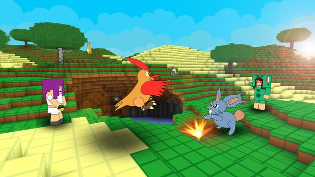 Pixelmon Craft Go: Trainer Battle screenshot 6