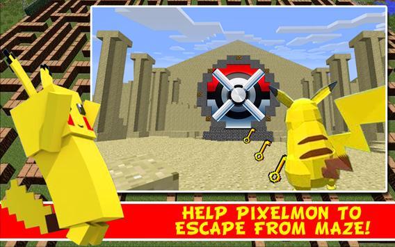 Go Pixelmon: Door Game apk screenshot