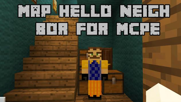 Map Hello Neighbor for MCPE poster