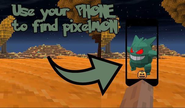 Pixelmon Craft: Halloween WeeKend Go MCPE poster