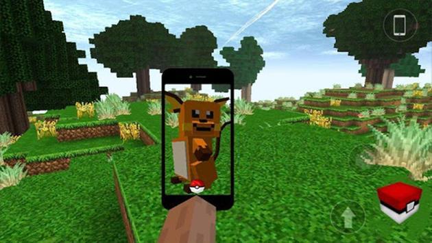 Pixelmon Craft: Go Pocket MCPE screenshot 1