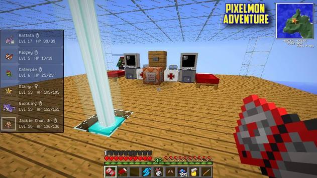 Pixelmon Mod apk screenshot