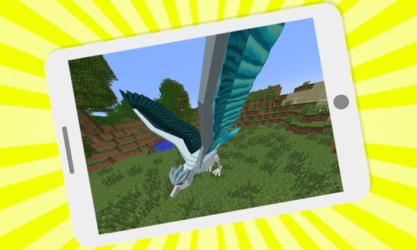 Pixelmon mod for minecraft pe poster