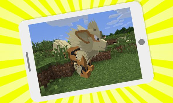 Pixelmon mod for minecraft pe screenshot 2