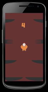 Ninja Chicken Invader Jump Up apk screenshot
