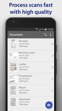 SharpScan: rapid multipage PDF document scanner apk screenshot