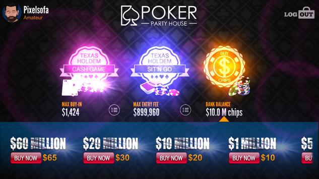 Poker Party House ™ apk screenshot