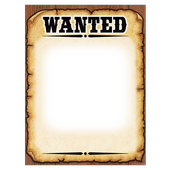 Wanted Poster Photo Frames icon