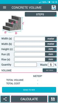 Beton Calculator screenshot 3