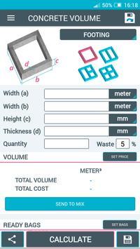 Concrete Calculator screenshot 10