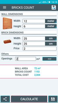 Beton Calculator screenshot 5