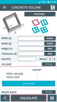 Beton Calculator screenshot 8