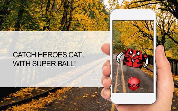 Pocket Cat Go! Heroes Edition apk screenshot