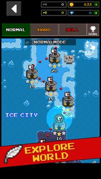 Dungeon X Pixel Hero apk screenshot